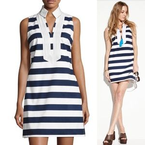 Sail to Sable Striped Sleeveless Sheath Dress S